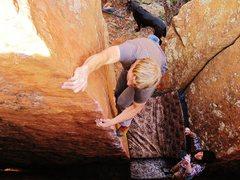 Rock Climbing Photo: Zach on CC