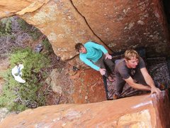 Rock Climbing Photo: Arete madness on 'Custers Corner'