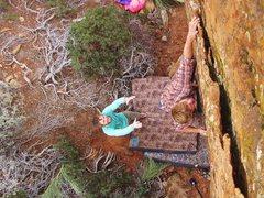Rock Climbing Photo: Cousins Face