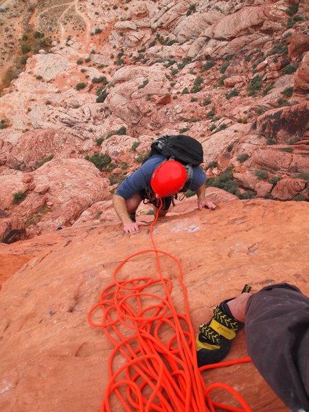 Rock Climbing Photo: Big Bad Wolf, P3