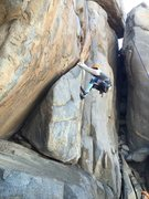 Rock Climbing Photo: Knob job in mission trails