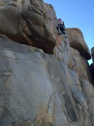 Rock Climbing Photo: Finishing knob job  5.8