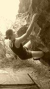 Rock Climbing Photo: traverse on brotha