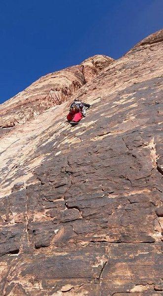 Rock Climbing Photo: Tuna Cookies 5.7 trad