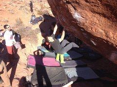 Rock Climbing Photo: Monkey Boulder