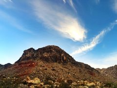 Rock Climbing Photo: Windy peak.