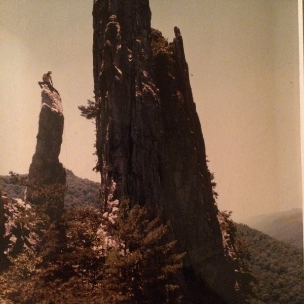 "Rock Climbing Photo: Me on top of ""The Gendarme"" 1980"
