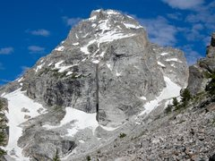 Rock Climbing Photo: Middle Teton from Garnet Canyon.
