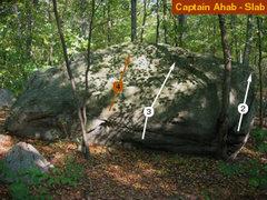 Rock Climbing Photo: slab photo