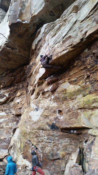 Rock Climbing Photo: Toxic Hueco