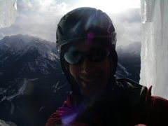Rock Climbing Photo: Jessie and I on another great roue outside of Canm...