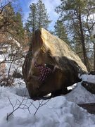 Rock Climbing Photo: Agent Orange Low Stand (V10)