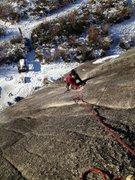 Rock Climbing Photo: Lazy easy slabs