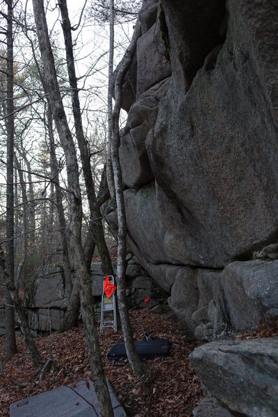 Rock Climbing Photo: Part of the left side