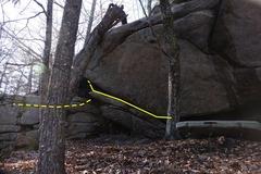 Rock Climbing Photo: The Woe Down