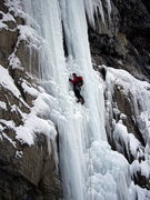 Rock Climbing Photo: How about this amazing pitch on Carlsberg Column, ...