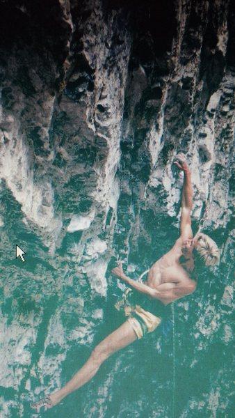 Rock Climbing Photo: Todd Graham on El Diablo, AF