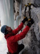 Rock Climbing Photo: This was my first dry tool day outside of Bamff, M...