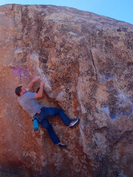 Rock Climbing Photo: moving on up
