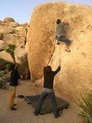Rock Climbing Photo: big reach reach