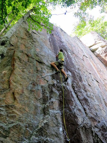Rock Climbing Photo: FA of Feeding the Rat.