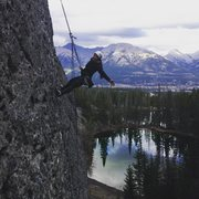 Canmore, look- no hands! 2015