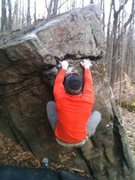 Rock Climbing Photo: Corey's  second move on short and sweet