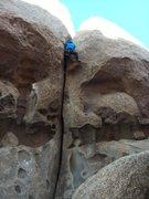 Rock Climbing Photo: Me Following Moubit