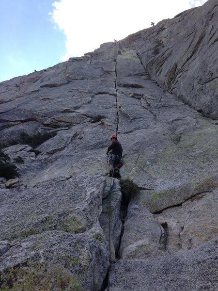Alternate start to the Long climb, (wong climb)