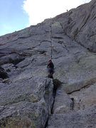 Rock Climbing Photo: Start of the Long Climb