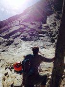 Rock Climbing Photo: waiting in line