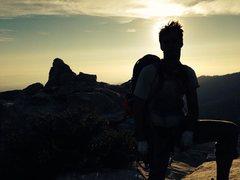 Rock Climbing Photo: summit post whodunit