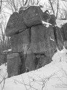 Rock Climbing Photo: Welcoming, even in winter
