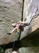 Rock Climbing Photo: There's a very weird and special bond between clim...