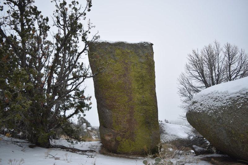 Rock Climbing Photo: Dean Martin boulder