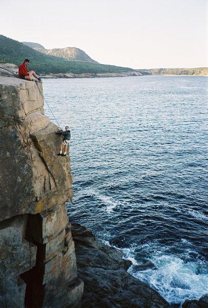 Rock Climbing Photo: Jay Peterson, age 11.