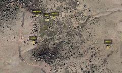 Satellite photo of area.