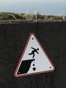 Rock Climbing Photo: Don't do that