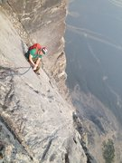 Rock Climbing Photo: Partner with alpinelite 18