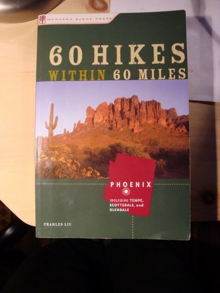 Rock Climbing Photo: 60 Hikes - Including Tempe, Scottsdale and Glendal...