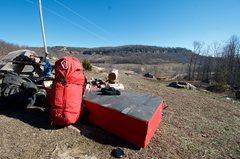 Rock Climbing Photo: Gear at the Ranch