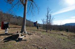 Rock Climbing Photo: The Swing!