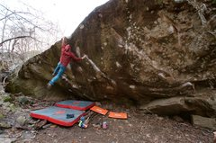 Rock Climbing Photo: Kung Fu!