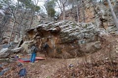 Rock Climbing Photo: Crack Ho!