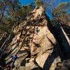 The climb!