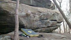 Rock Climbing Photo: Darkside wall