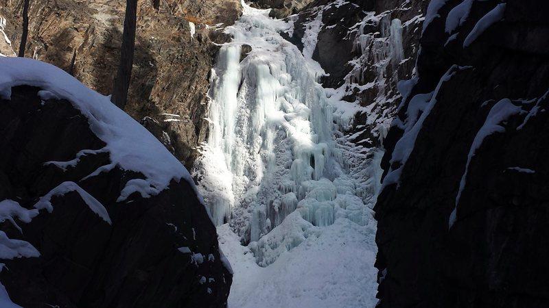 Bear Creek Falls, January 2016.