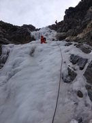 Rock Climbing Photo: BP Falls in good nick! 12-6-15
