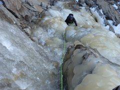 Rock Climbing Photo: RS following P1 of Silver Strand. Photo: Vitaliy M...