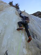 Rock Climbing Photo: Headed for the rim, P4. Photo: Vitaliy M.